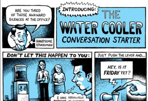 The Water Cooler Conversation Starter